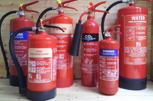 Image of Fire Extinguishers